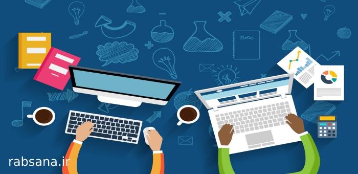 نحوه چینش عناصر و المان های سایت در هنگام طراحی سایت