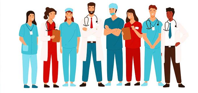 معرفی تیم پزشکی