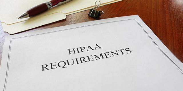 الزامات استفاده از HIPAA