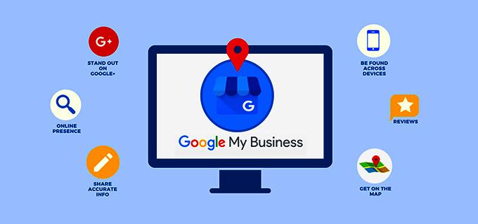 استفاده از ابزار google my business در وب سایت سالن زیبایی و کاشت ناخن